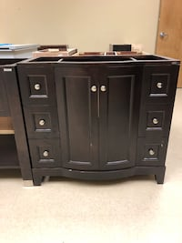 black wooden cabinet with drawer Chantilly, 20151