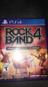 rock band 4 video game Gainesville, 20155