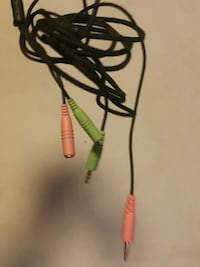 Mic/Speaker Extension Cables (PC/Mac)