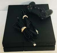 SONY PLAYSTATION 4 CUH1215A WITH CABLES AND CONTROLLER  Deerfield Beach, 33442