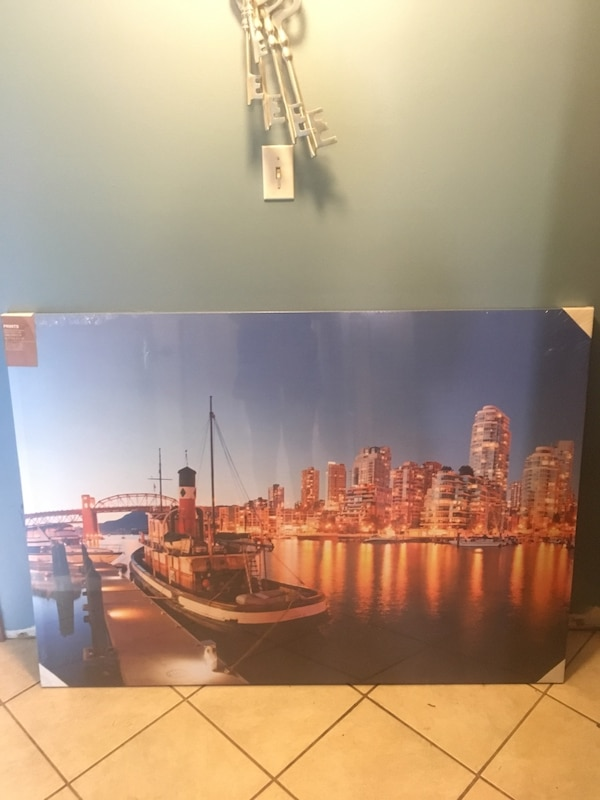 Giant canvas of Vancouver