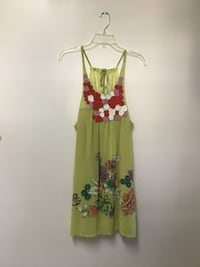 Women's LULUMARI (Anthropologie) floral print halter dress size-small Manasquan, 08736