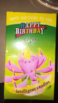 Used Happy Birthday Lz 04 Intelligent Candles For Sale In Vestal