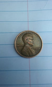 1934 round bronze Liberty commemorative coin West Valley City, 84119