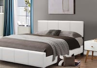 New. Queen Size Platform Bed (6 colors) Bear