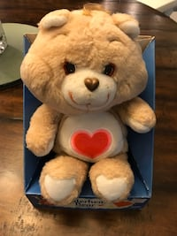 Vintage New CareBear TenderHeart, original in box! $50 Elkridge, 21075