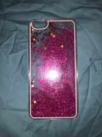 iPhone 6 Plus case. Like new   The glitter moves as u move  Deridder, 70634