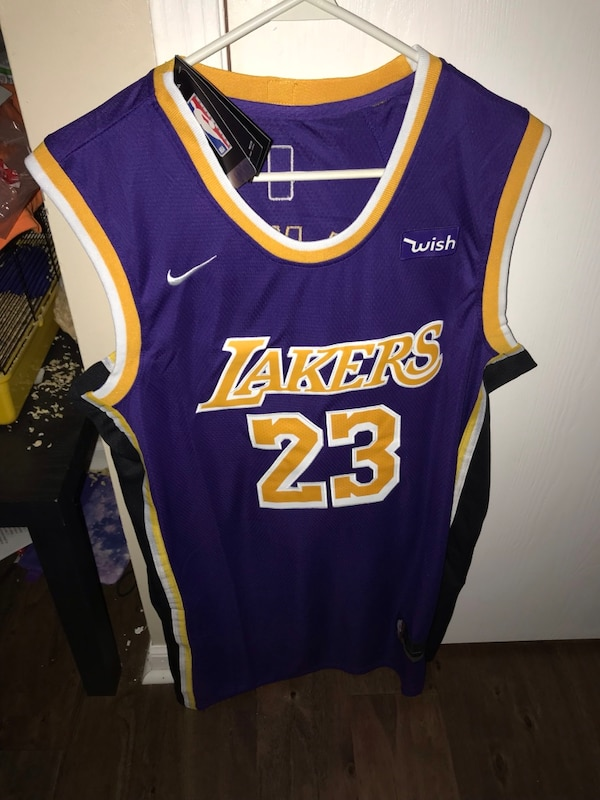 4ed004d8a9a Used blue and yellow Los Angeles Lakers Kobe Bryant jersey for sale ...