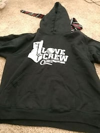 black and white pullover hoodie Oklahoma City, 73159