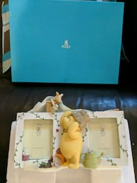 Winnie the pooh (in the garden) double frame  Laval, H7W 1X1