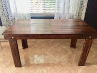 Wooden rustic dinning/desk table Delray Beach, 33445