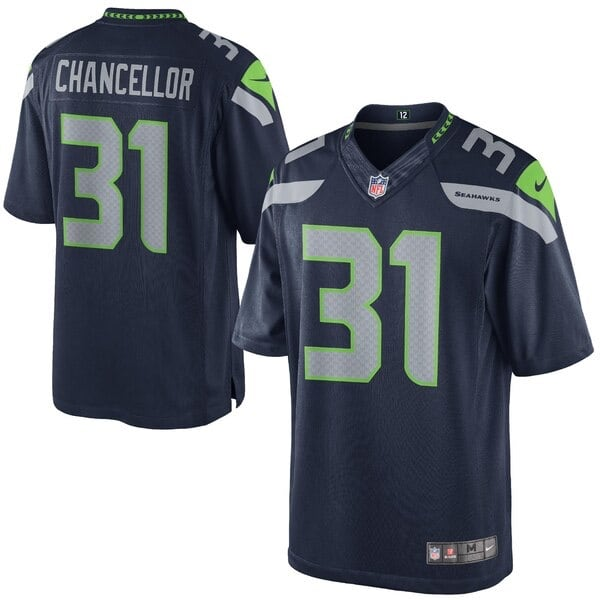 Kam Chancellor Seahawks NFL Jersey