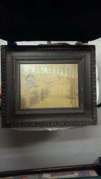 Antique Picture and Frame