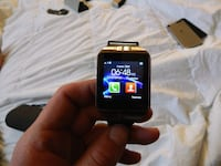 black smartwatch with black strap Edmonton, T6L