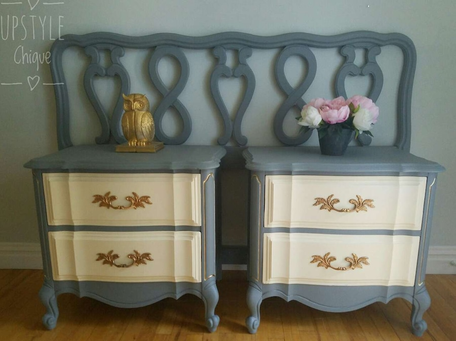 Used French Provincial Bedroom Set In Pearl River
