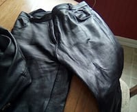 black leather pants Nicolet, J3T 1P6