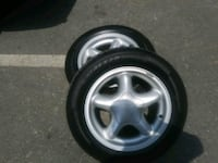 Mustang wheels new tires must sell.5lugs  Severn, 21144