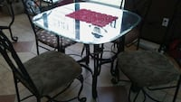 All Glass top Iron base coffee table Humble, 77346