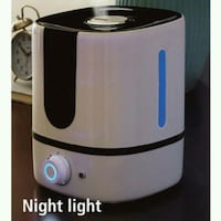 Humidifier with night light