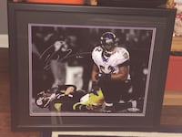 Authentic signed Ray Lewis picture Elkton, 21921