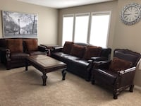 Traditional living room set by Ashley furniture  Calgary, T3R 0S6