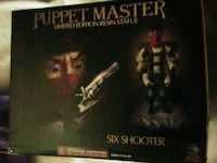 Puppet master six shooter statue figure mintin box St. Catharines, L2T 2L5