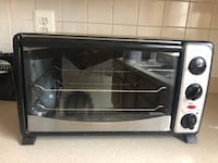 Stainless steel and black toaster oven Boyds, 20841