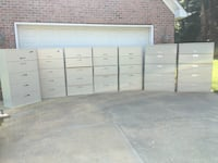 5-Drawer Laterals (5)Allsteel & (2)Hon Lake Wylie, 29710
