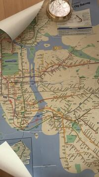 New York Subway Map Springfield, 62704