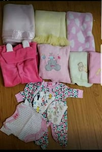 baby's assorted clothes new born all $15
