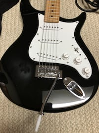 Electric guitar set. With free delivery