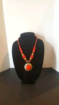 red  necklace with  attached pendant Brampton, L6R 0W2