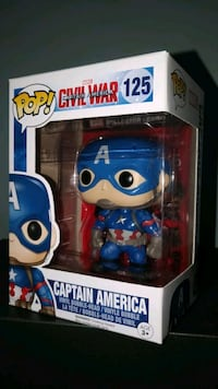 Captain America funko pop Toronto