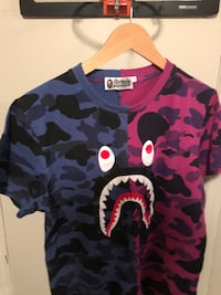Bape Split Camo Tee Cambridge, N1R 8A6