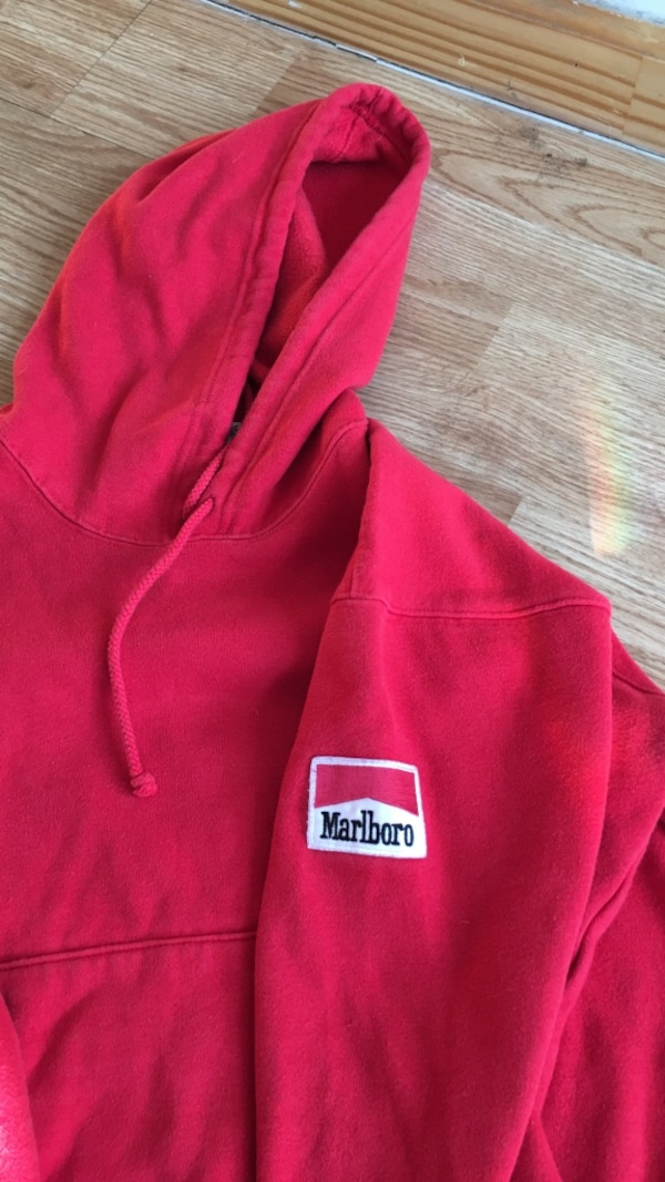 119cbe6327d2 Used pink Marlboro pullover hoodie for sale in New York - letgo