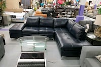 New modern navy blue sectional on sale  Toronto, M9W 1P6