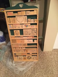 Hanging box with 60 stamps.   Hyrum, 84319