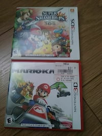 two Nintendo 3DS game cases 2375 mi