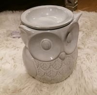 Owl Wax Melt Burner w/ Bulb Red Deer, T4P