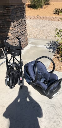 baby's black and gray travel system Washington, 20024