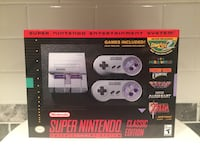 Brand new (never opened) snes classic