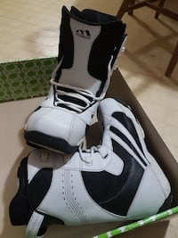 Morrow Size 11 Rail White Snowboard shoes