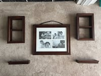 Picture frame and shelf set Milton, L9T 0Z1