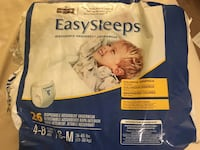 Easysleeps disposable night-time underpants 4-8 yrs