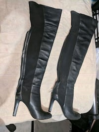 Nine west thigh high boots  Toronto, M3C 1E1