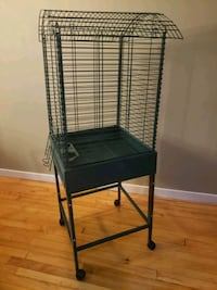 birdcage / bird cage on rolling stand