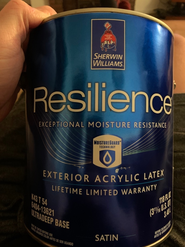 Photo Sherwin Williams Resilience Exterior