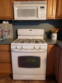 Oven, Stove and Microwave