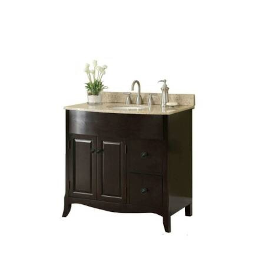 Used sink vanity in espresso with vanity top in douglasville Used bathroom vanity with sink