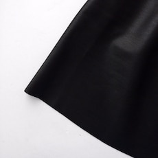 Faux leather black skirt size S-M